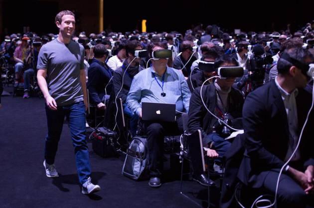 Estudio de Mercado 2016 Industria de Eventos Grupo Eventoplus: El fundador de Facebook sorprende a los asistentes al Mobile World Congress con una charla sobre realidad virtual