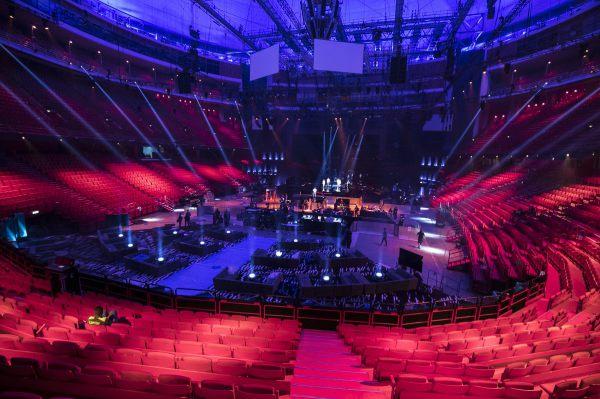 Pabellón Global Arena preparado para Eurovisión 2016