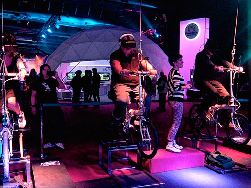 Realidad virtual en eventos