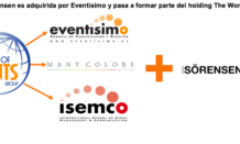 Eventisimo revoluciona #IndustriaEventos con la adquisición del Grupo Sörensen