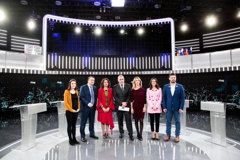 Escenografía #Debate28A